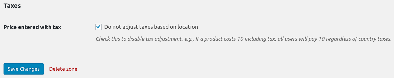 Disable the WooCommerce tax adjustment.